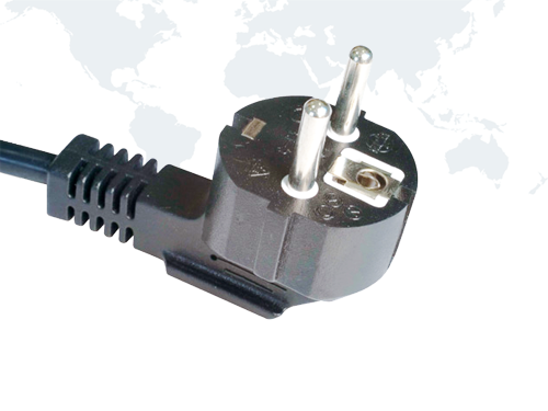 Europe Power Cords VDE SCHUKO Plug EU03