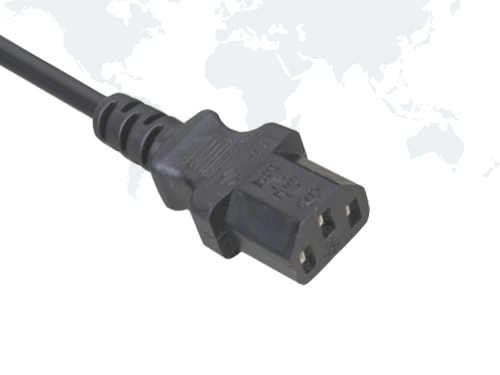 Brazil Power Cords UC INMETRO Plug end IEC C13